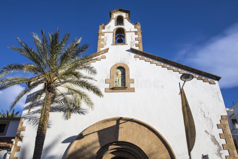 Klasztor w Xabia Hiszpania fotografia royalty free