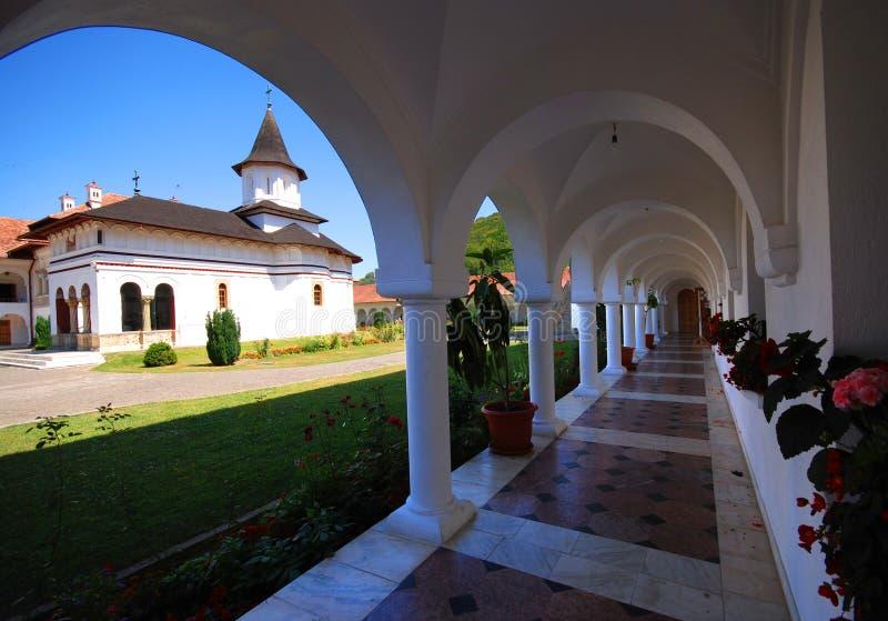 klasztoru sambata do kościoła zdjęcie stock