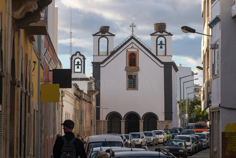 Klasztoru Santo Antonio dos Capuchos fotografia stock