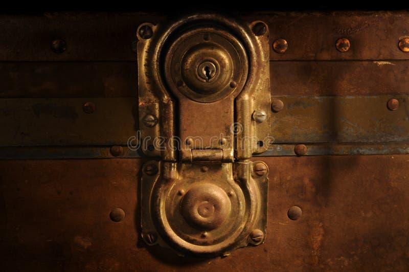 klatka piersiowa antykwarski kędziorek obrazy stock
