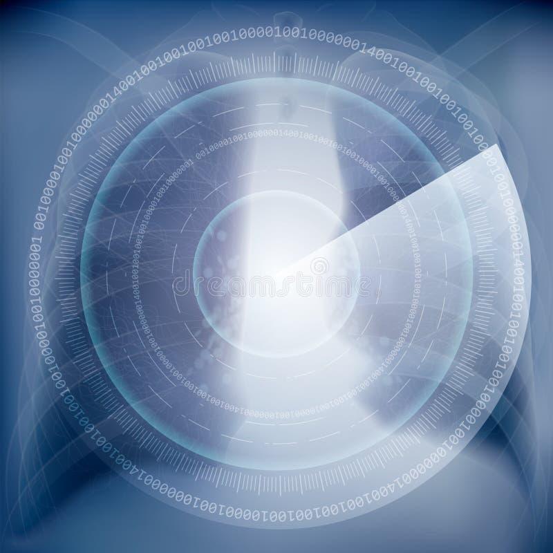 Klatka piersiowa wizerunek, Realistyczni promieniowanie rentgenowskie strzały ilustracji