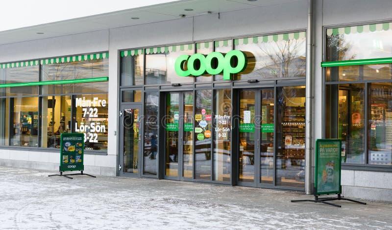 KLATKA sklep w Alvsjo obrazy royalty free