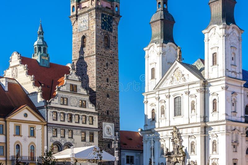 Klatovy, Δημοκρατία της Τσεχίας στοκ φωτογραφία