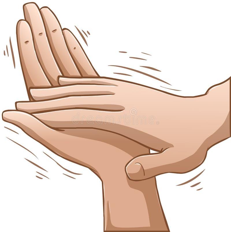 Klatschende Hände vektor abbildung