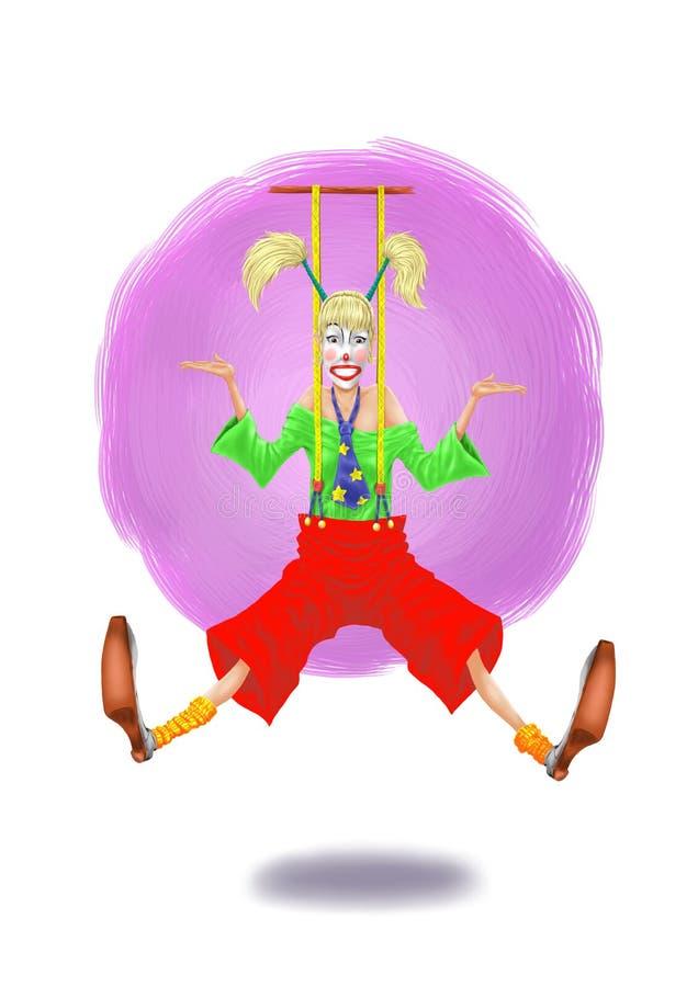 klaun ilustracji