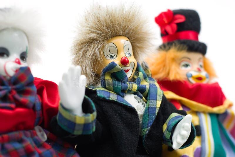 klaun lalki. zdjęcie royalty free