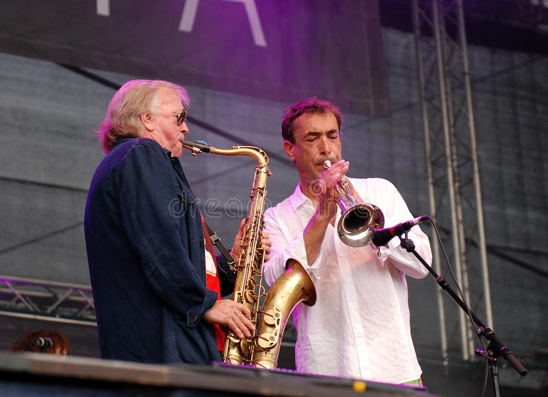 Download Klaus Doldinger Performs With Hubert Von Goisern Editorial Stock Photo - Image: 28622768
