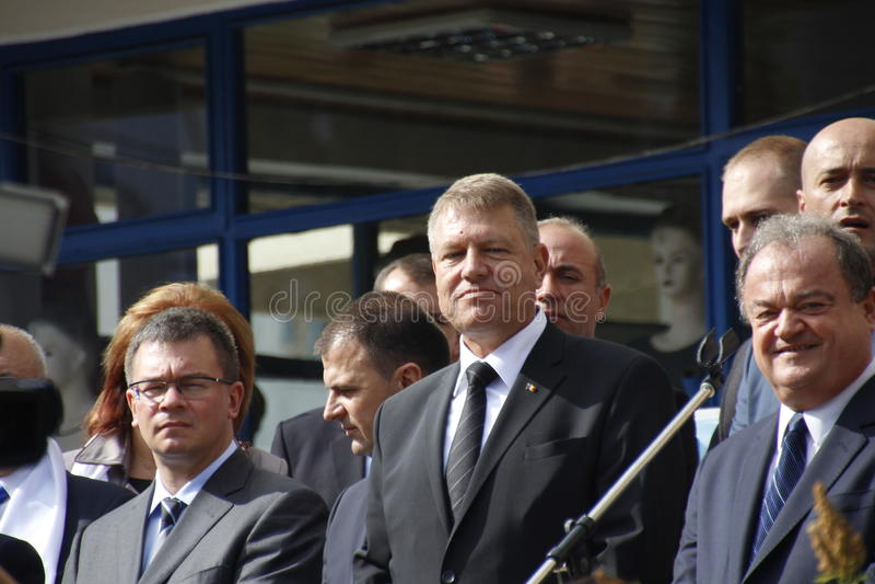 Klaus Iohannis photo stock