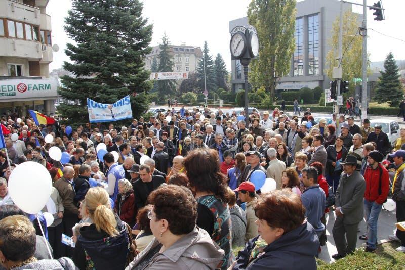 Klaus Iohannis image libre de droits