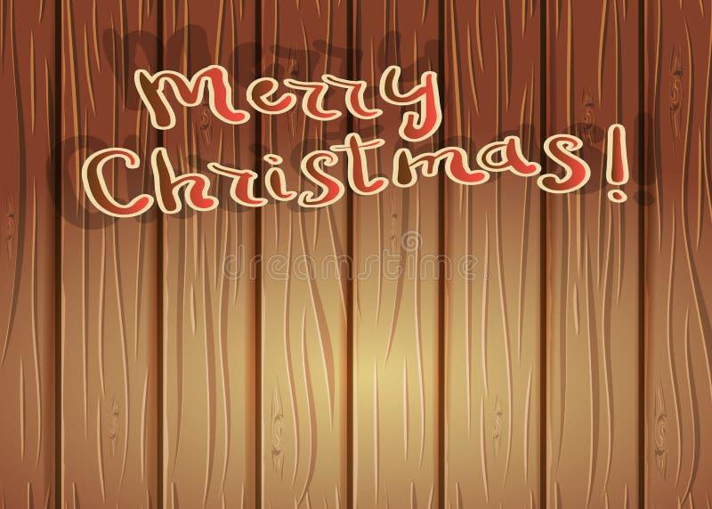 klaus santa för frost för påsekortjul sky Glatt märka för jul JulferieBac royaltyfri illustrationer