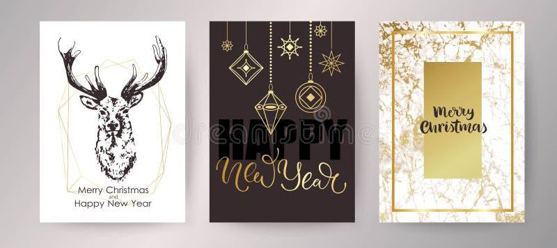 klaus santa för frost för påsekortjul sky Inbjudandesign för lyckligt nytt år vektor illustrationer