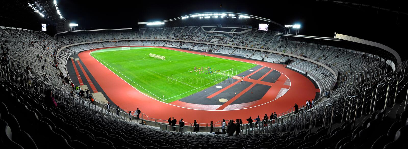 Klausenburg-Arenafußballstadion, Rumänien stockfoto