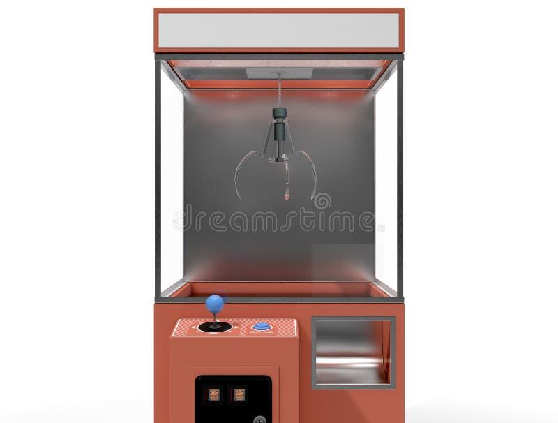Klauw Arcade Game stock illustratie