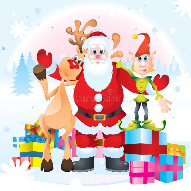 klauzula elf Rudolph Santa