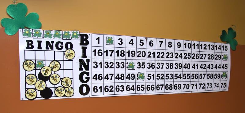 Klaver Bingo royalty-vrije stock foto