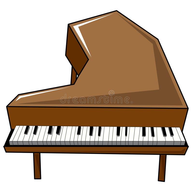 Klavier vektor abbildung