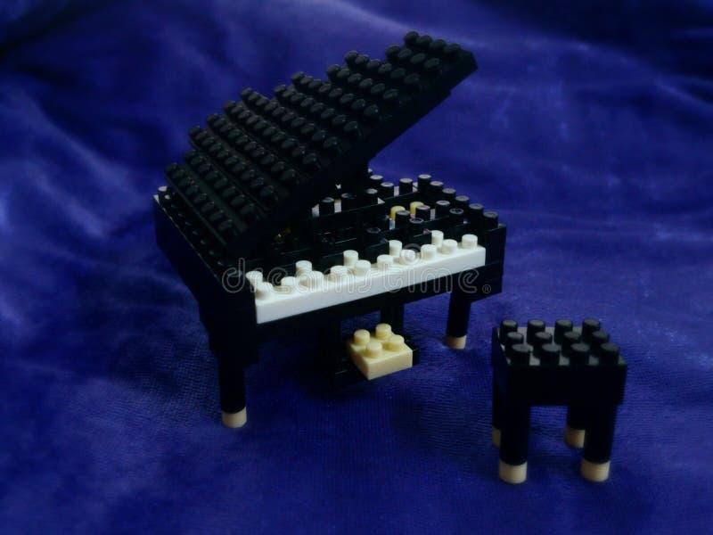 Klavier-Block stockbild