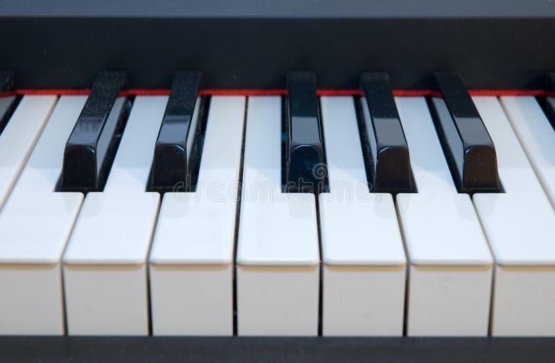 Klavier Fingerboard lizenzfreie stockfotografie
