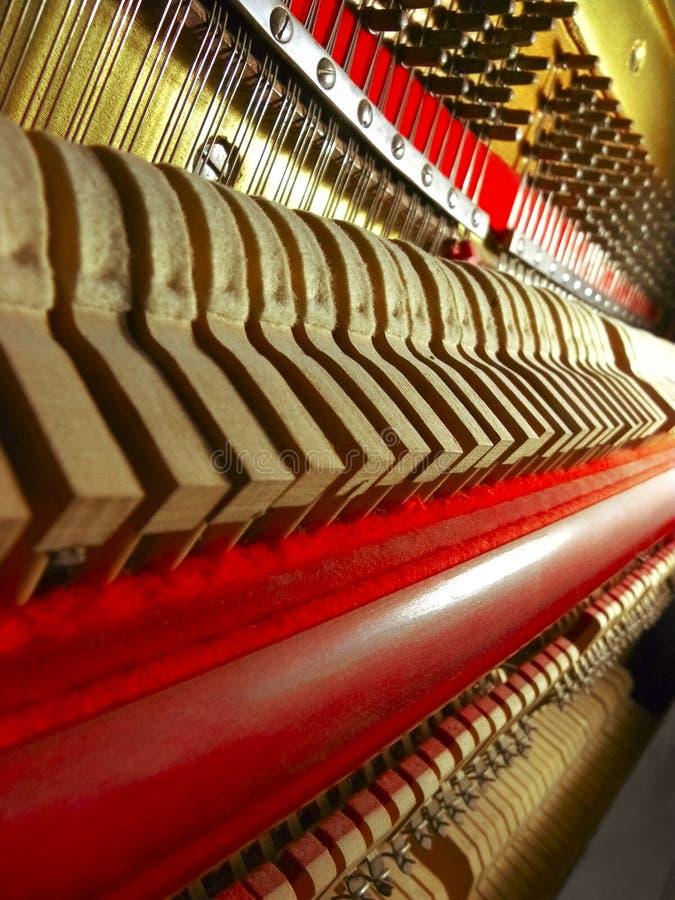 Klavier-Teile stockbild
