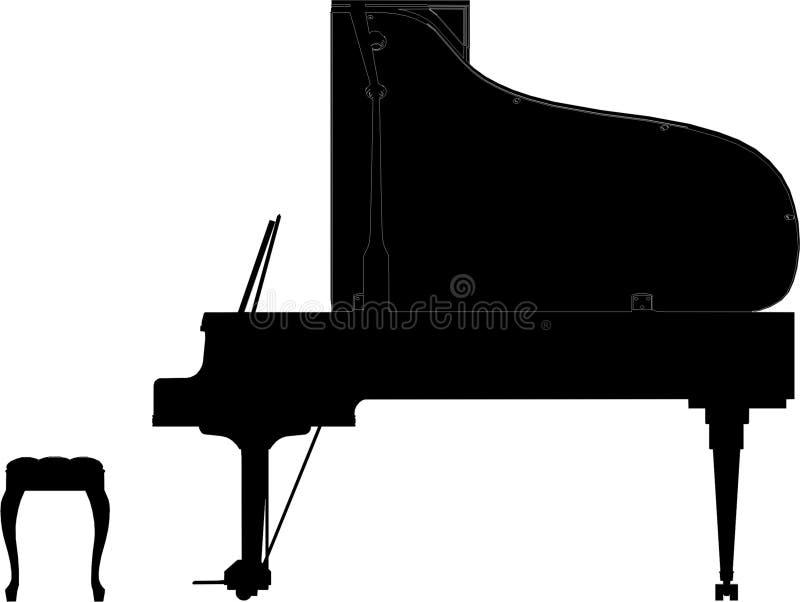 Klavier-Vektor 03 vektor abbildung
