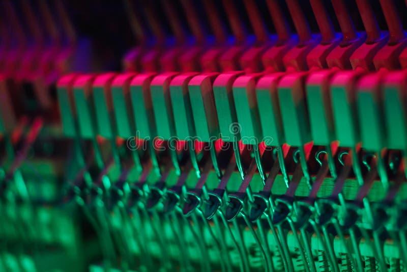 Klavierinstrument innerhalb des internen Entwurfs musikalisch stockfotos