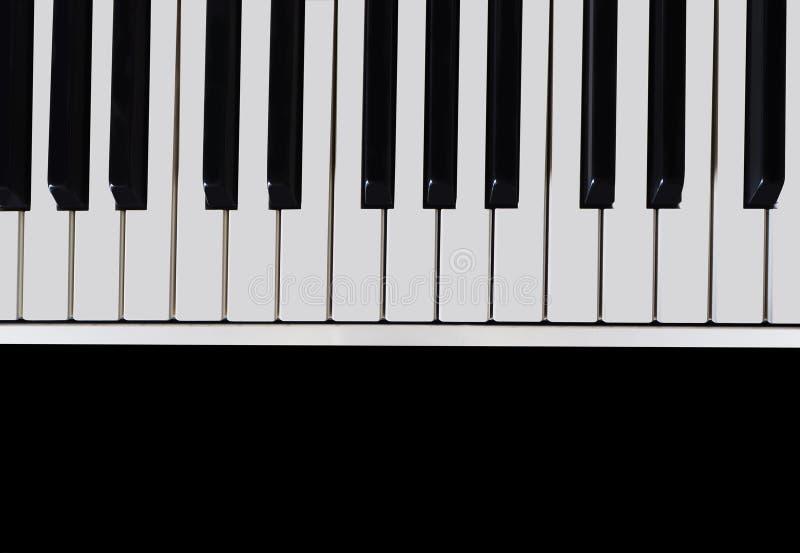 Download Klaviertastaturnahaufnahme stockbild. Bild von hintergrund - 90225847