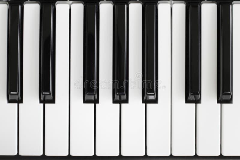 Klaviertaste lizenzfreie stockfotos