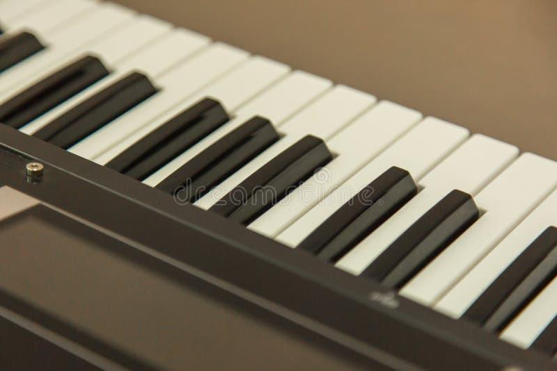 Klawiatura Muzyczny instrument obrazy stock