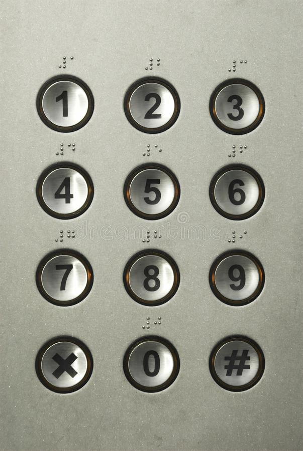 klawiatura numeryk zdjęcie stock