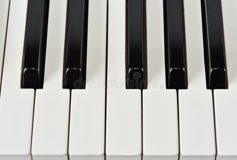 klawiaturowy pianino zdjęcie royalty free