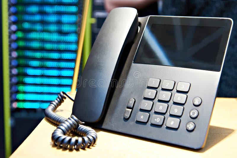 klawiatury biura szczegółów słuchawkę telefonu obraz stock