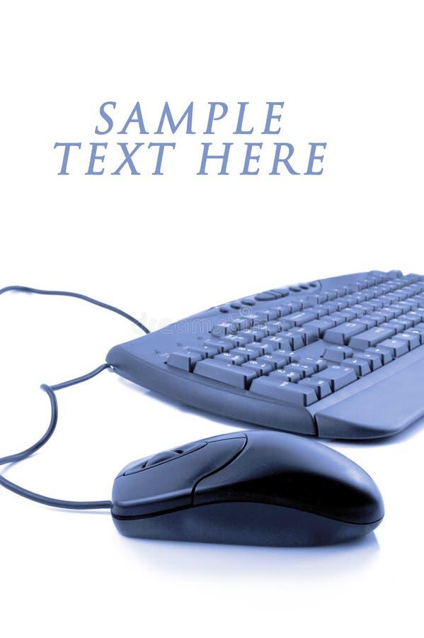 klawiatury myszy komputerowej zdjęcia royalty free
