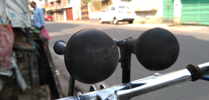 Klaxon des véhicules photo stock