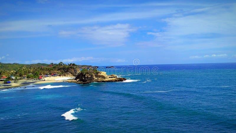 Klayar Beach stock photos