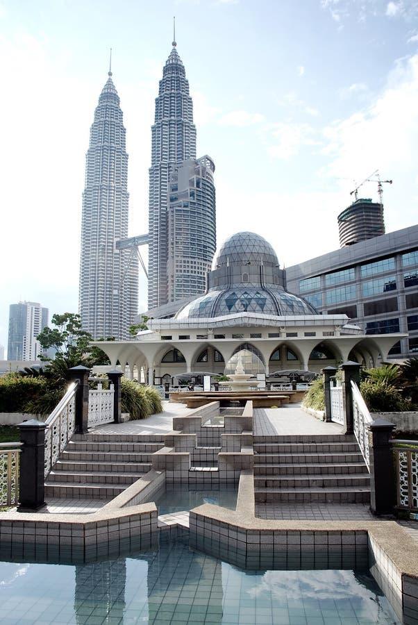 klcc μουσουλμανικό τέμενος στοκ φωτογραφίες