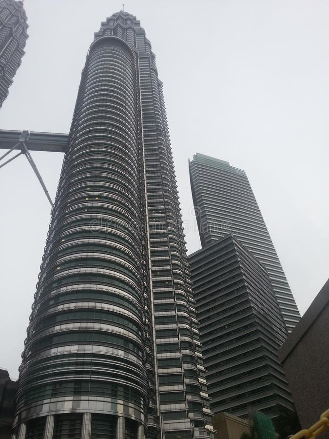 KLCC Maleisië stock foto's