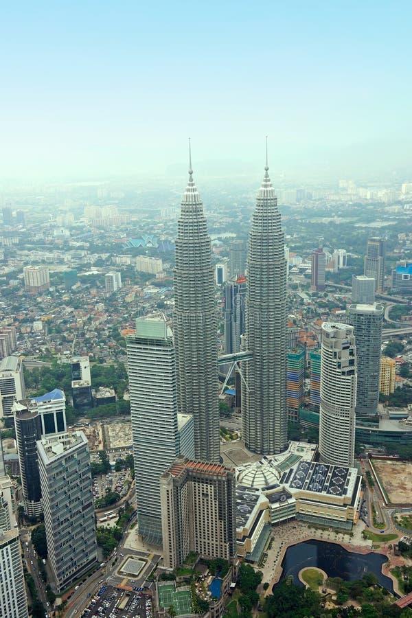 Download KLCC Petronas Twin Tower Kuala Lumpur Skyline Aeri Editorial Stock Photo - Image: 33862453
