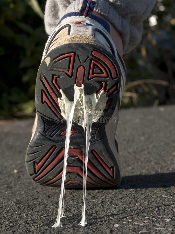 Klebrige Füße lizenzfreie stockfotos