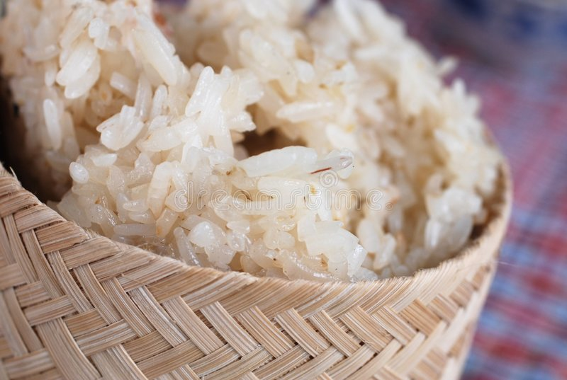 Klebriger Reis lizenzfreies stockfoto