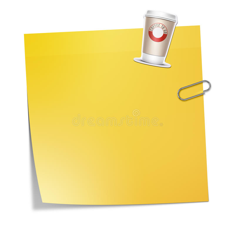 Klebriges Papier vektor abbildung