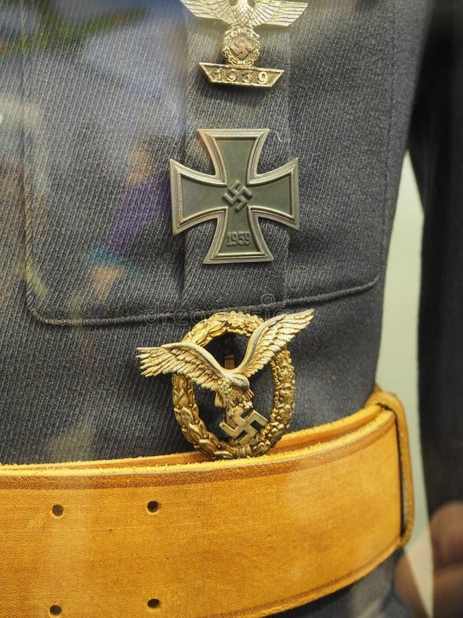 kleding, medailles van het Duitse leger in Wereldoorlog II royalty-vrije stock fotografie