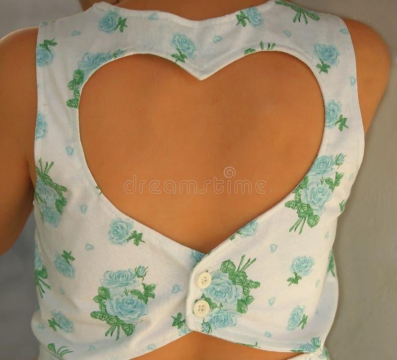 kledingshart stock fotografie