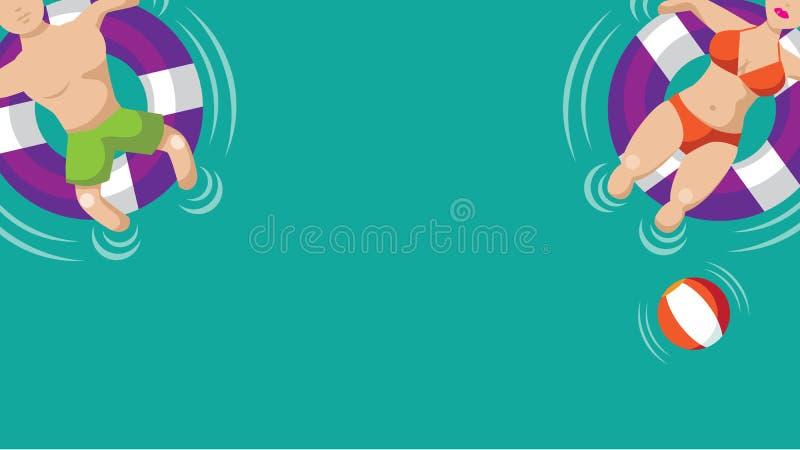 Kleehintergrund mit großem Bildschirm lizenzfreie abbildung