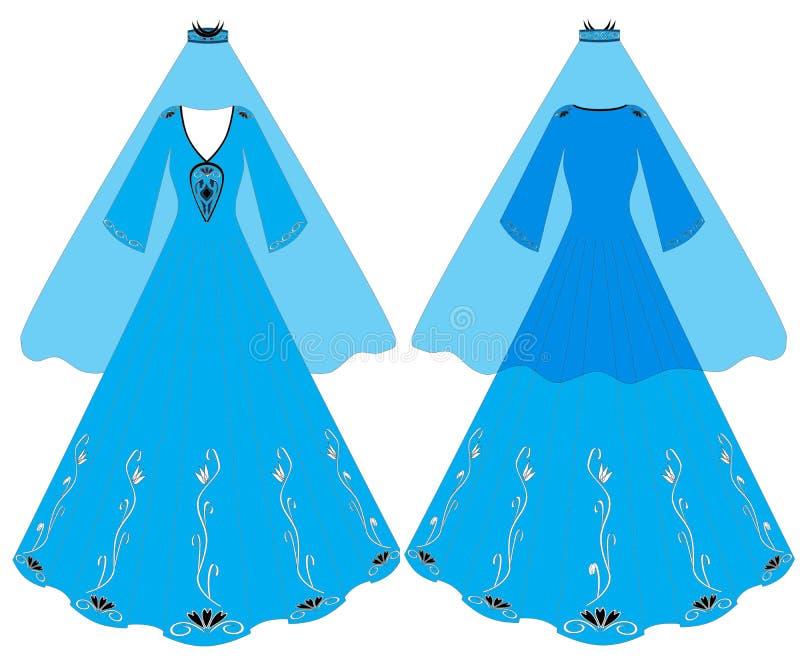 Kleid stock abbildung