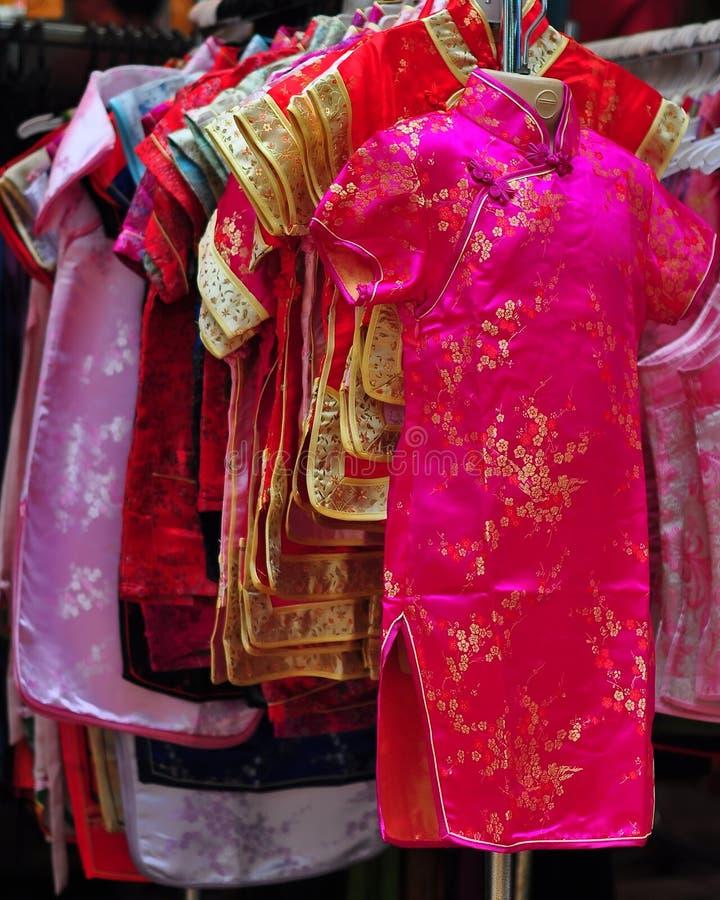 Kleid des traditionellen Chinesen lizenzfreies stockbild