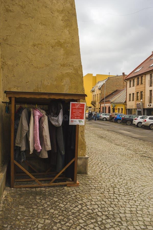 Kleiden Sie Grenzübergang stockbild
