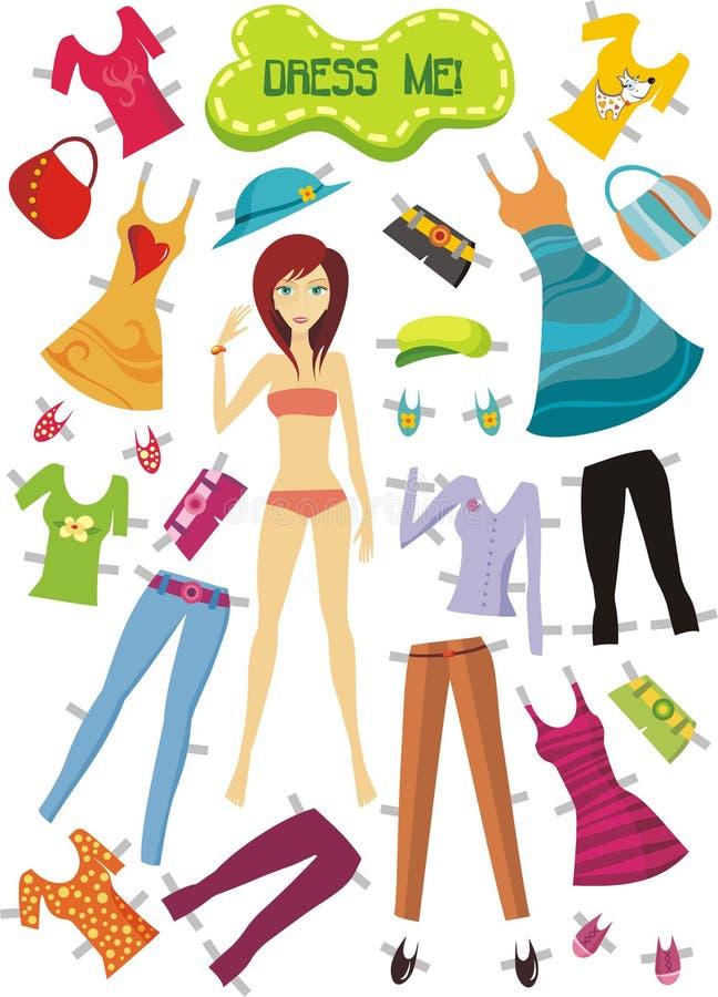 Kleidung stock abbildung