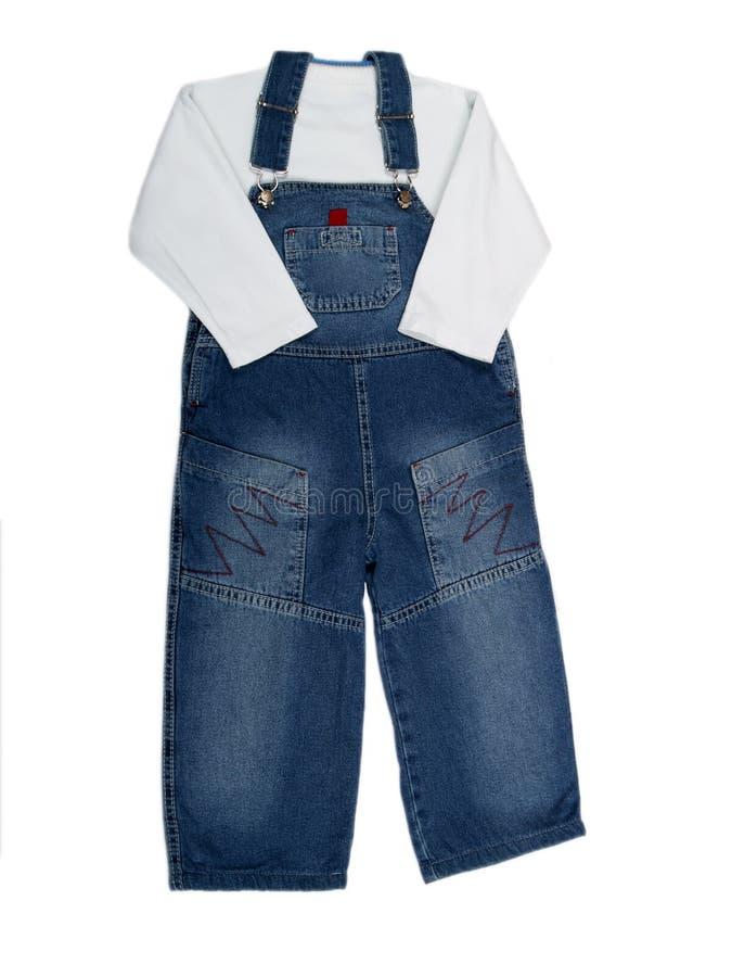 Kleidung der Kinder stockbilder