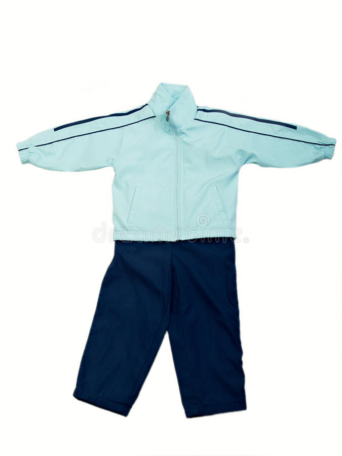 Kleidung der Kinder stockfotografie