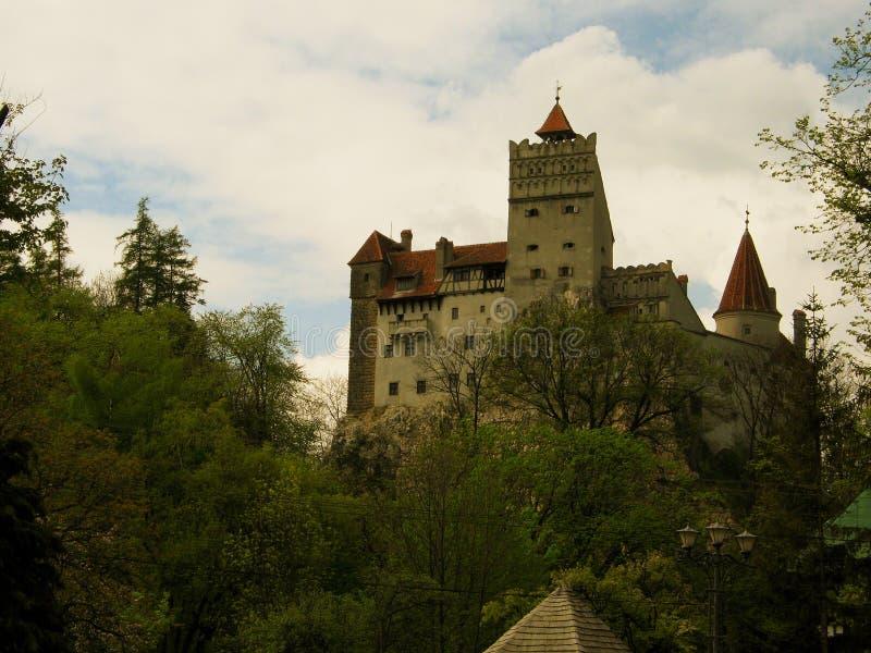 Kleie-Schloss in Siebenbürgen lizenzfreie stockfotos